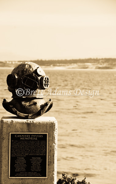 Cannery Divers Memorial. Monterey, CA