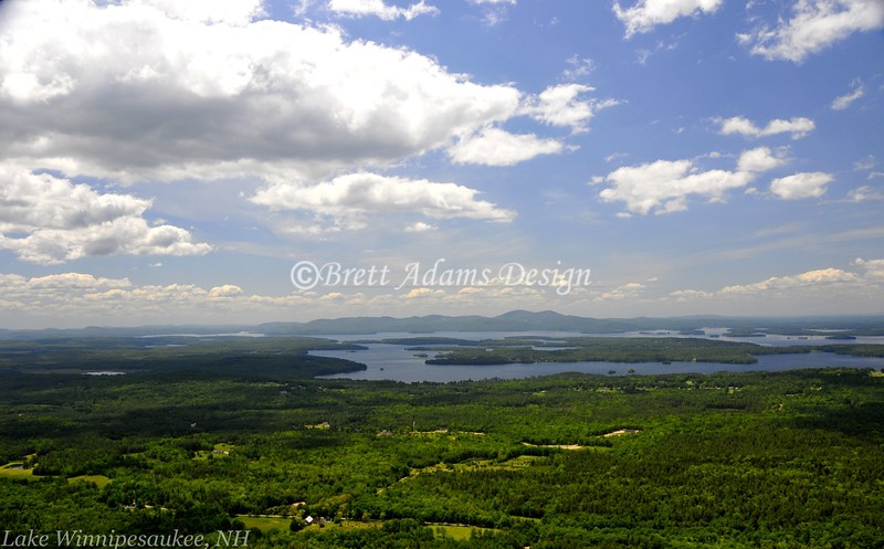 Lake Winnipesaukee, NH - Overlook from Roberts Mt