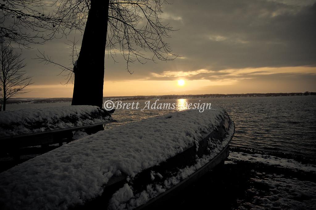 Snow Boats - Owasco Lake, Auburn NY