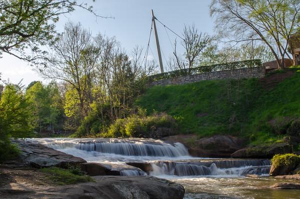 Falls Park, Greenville, SC