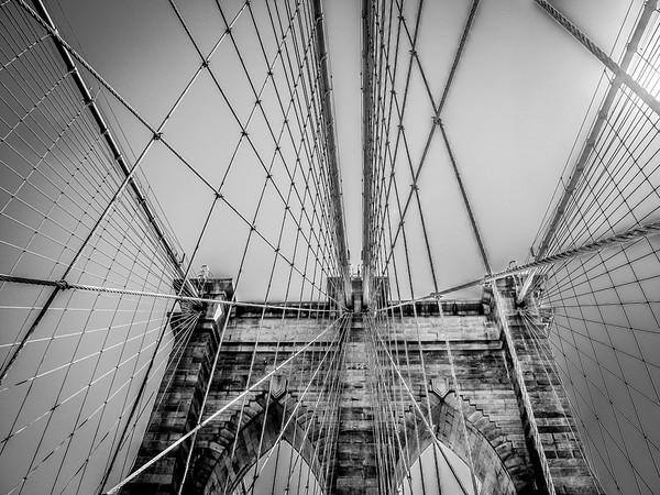 Brooklyn Bridge; New York City, NY