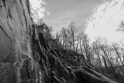 Hickory Nut Falls at Chimney Rock State Park; Chimney Rock, NC