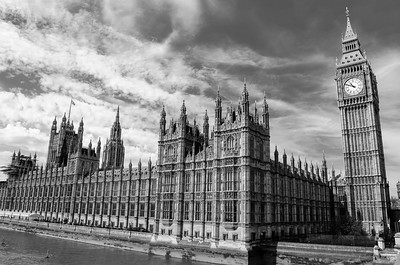 Palace of Westminster; London, England