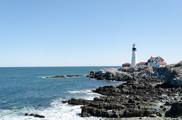 Portland Head Light; Cape Elizabeth, Maine