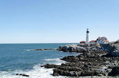 Portland Head Light; Cape Elizabeth, Maine
