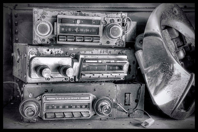 Radios on the shelf