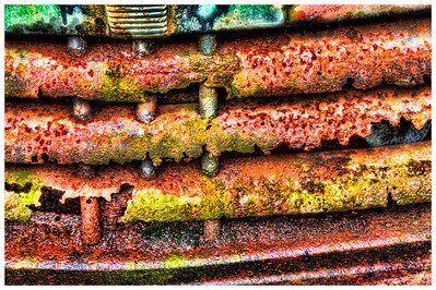 Rusting Front Grill