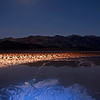 Moonrise Over The Salt Flats<br /> Death Valley National Park