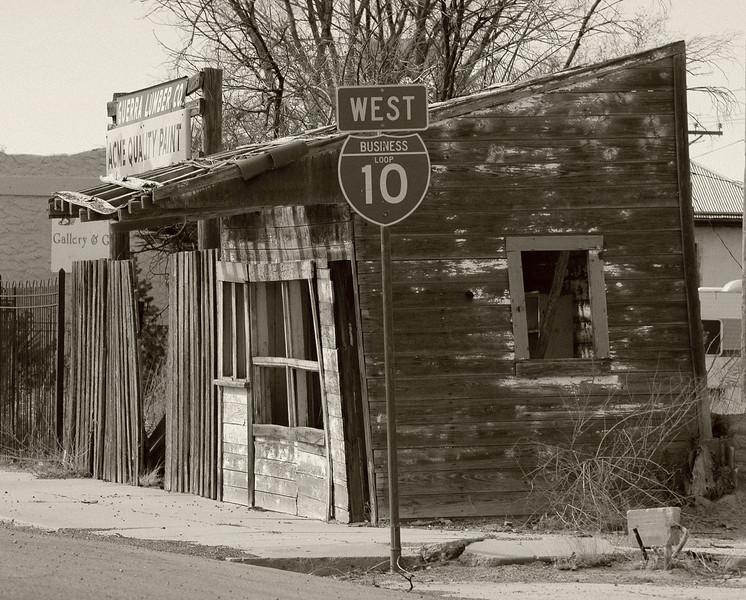 Old Meets New<br /> Sierra Blanca, TX