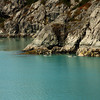 <p>Blue water, Glacier Bay National Park, Alaska, USA</p>