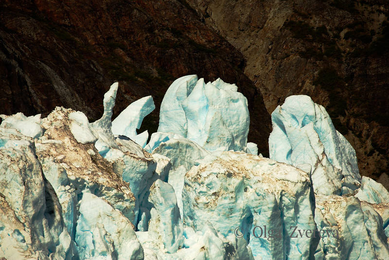<p>Ice of Margerie Glacier, Glacier Bay National Park, Alaska, USA</p>