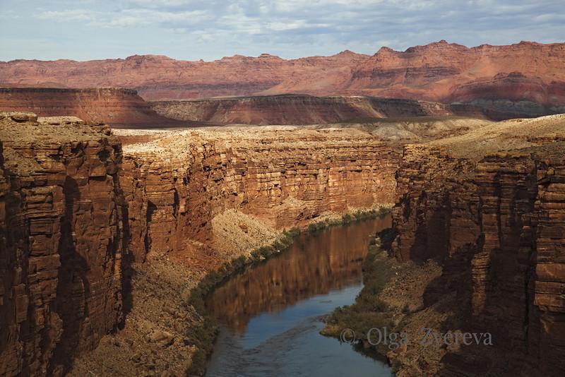<p>Colorado River from Navajo Bridge, Arizona, USA</p>