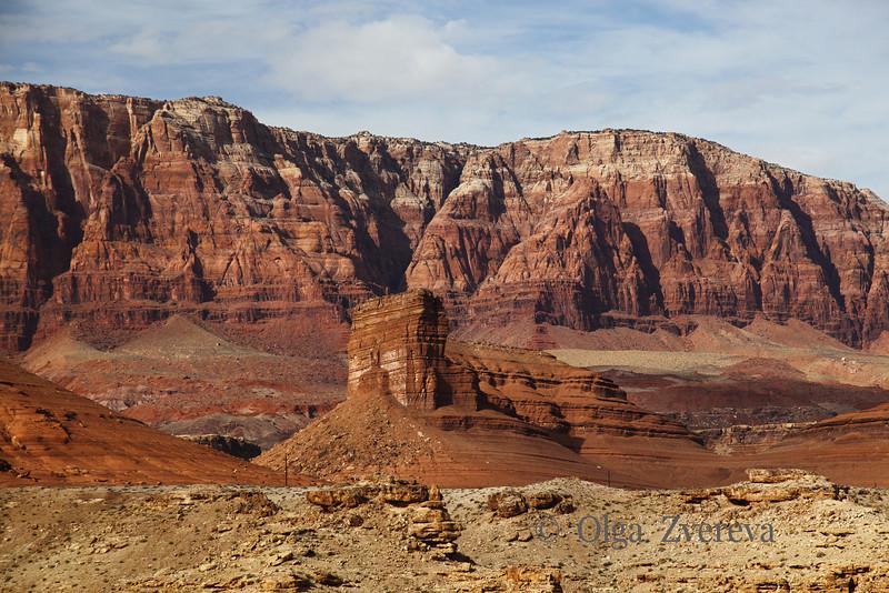 <p>Meseta near Navajo Bridge, Arizona, USA</p>