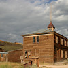 <p>School house at Bodie State Historic Park, California, USA</p>