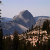 <p>Half Dome view from Tioga Road, Yosemite National Park, California, USA</p>