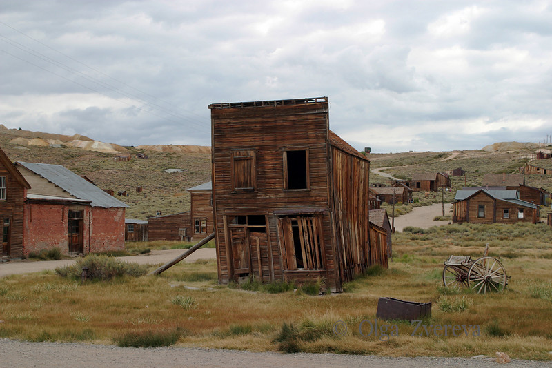 <p>Swazey Hotel at Bodie State Historic Park, California, USA</p>