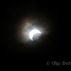 <p>5/20/2012 5:58pm</p>  <p>Annular sun eclipse.Taken at Redding, California.</p>