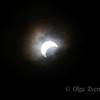 <p>5/20/2012 5:58pm</p>  <p>Annular sun eclipse.Taken at Redding, California.</p>