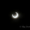 <p>5/20/2012 6:29pm</p>  <p>Annular sun eclipse.Taken at Redding, California.</p>
