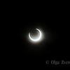 <p>5/20/2012 6:29pm</p>  <p>Annular sun eclipse.Taken at Redding, California.</p>