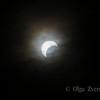 <p>5/20/2012 5:59pm</p>  <p>Annular sun eclipse.Taken at Redding, California.</p>