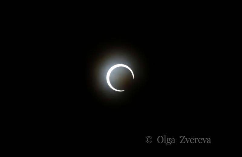 <p>5/20/2012 6:23pm</p>  <p>Annular sun eclipse.Taken at Redding, California.</p>