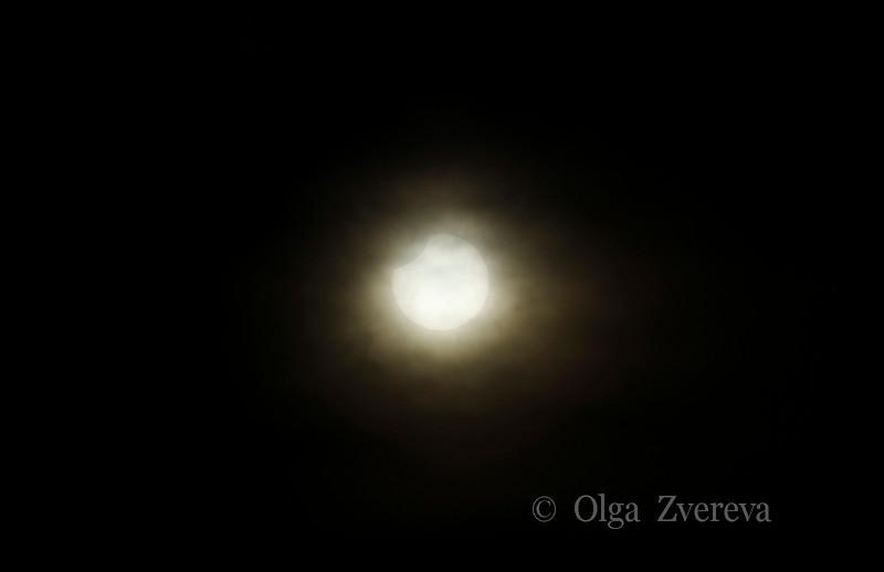 <p>5/20/2012 7:23pm</p>  <p>Annular sun eclipse.Taken at Redding, California.</p>