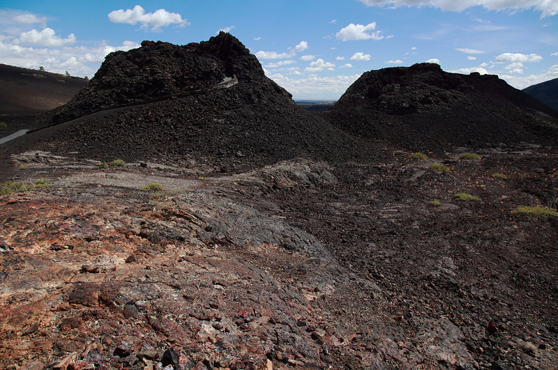 <p>Spatter Cones. Craters of the Moon National Monument, Idaho, USA</p>