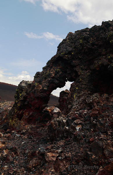 <p>Lava Arch at Craters of the Moon National Monument, Idaho, USA</p>