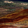 <p>Painted Hills, John Day Fossil Beds National Monument, Oregon, USA</p> <p>The green of sagebrush and the reds and golds of the hills create a pleasant contrast.</p>