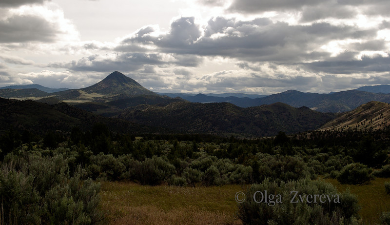<p>Buttes of Eastern Oregon, USA</p>