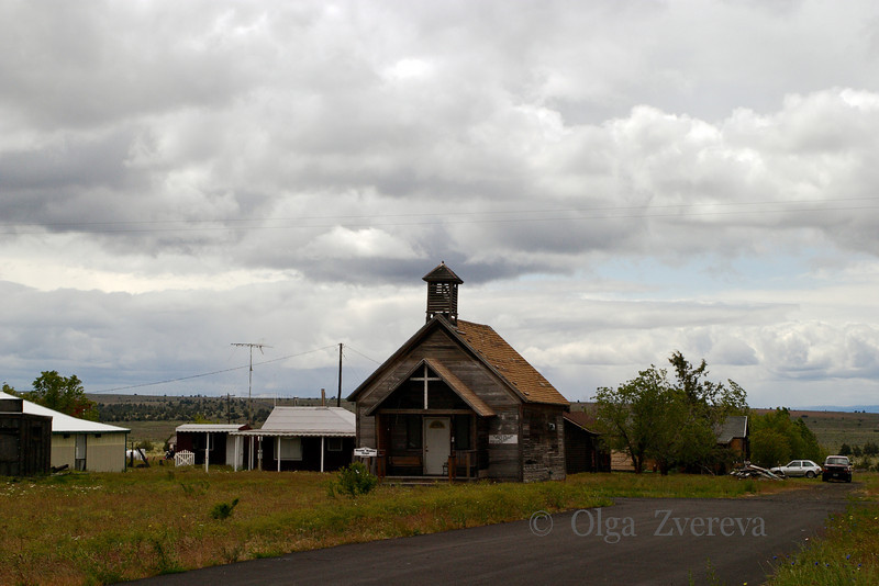 <p>Wedding Chapel, Eastern Oregon, USA</p>