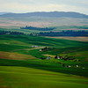 <p>Farms. Palouse, Washington, USA</p>