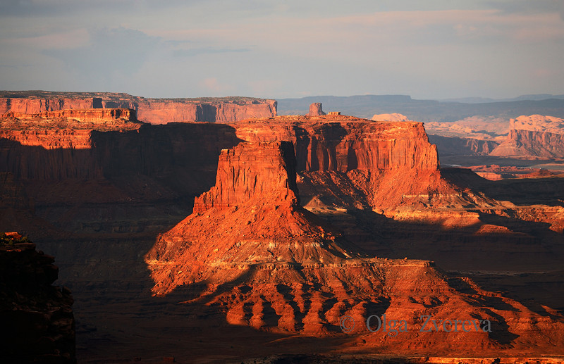 <p>Light and Shade, Island in the Sky, Canyonlands National Park, Utah, USA</p>