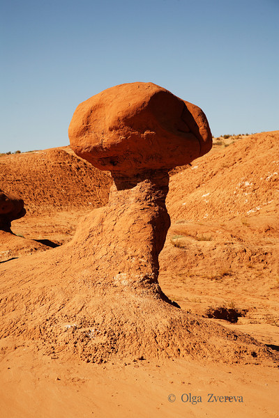 <p>Mashroom, Goblin Valley State Park, Utah, USA</p>