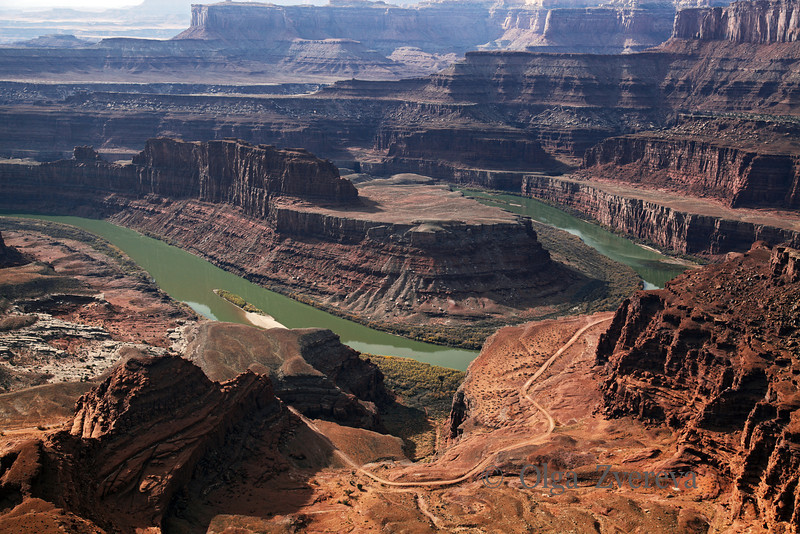 <p>Colorado River Gooseneck view from Dead Horse Point State Park, Utah, USA</p>