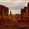<p>Park Avenue View, Arches National Park, Utah, USA</p>