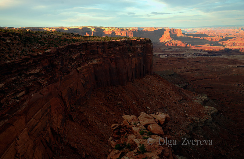 <p>Evening at Island in the Sky, Canyonlands National Park, Utah, USA</p>