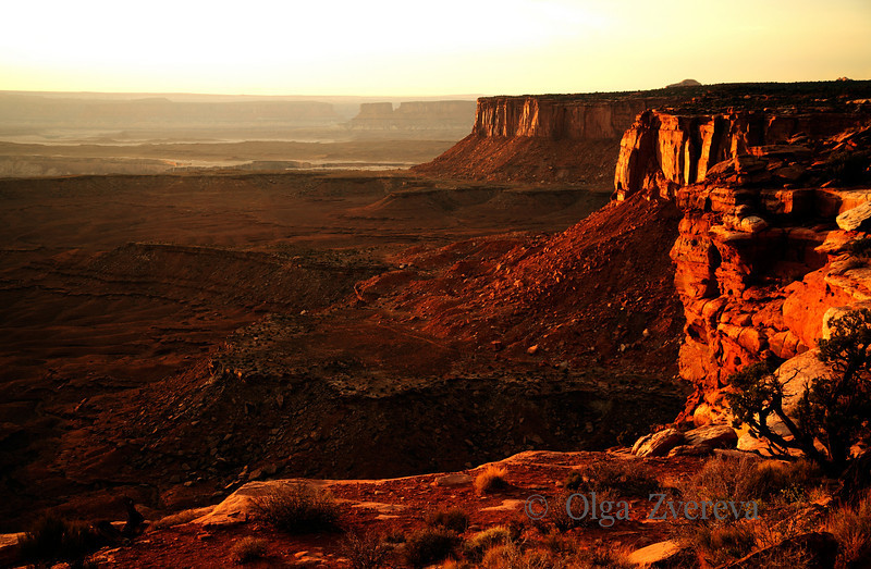 <p>Sunset at Island in the Sky, Canyonlands National Park, Utah, USA</p>