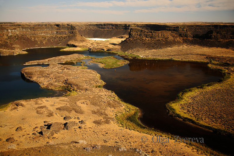 <p>Dry Falls, Washington, USA</p> <p>View from Dry Falls Interpretive Center.</p>