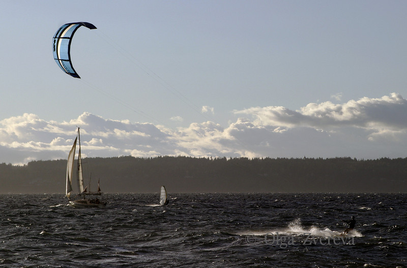 <p>Sailing. Puget Sound, Seattle, Washington, USA</p>