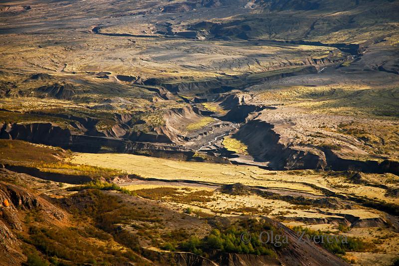 <p>Mount St. Helens Landscapes Study</p> <p>Mount St Helens National Volcanic Monument, Washington, USA</p>