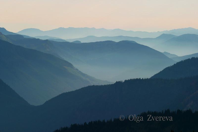 <p>Blue Mountain, Mount Rainier National Park, Washington, USA</p>