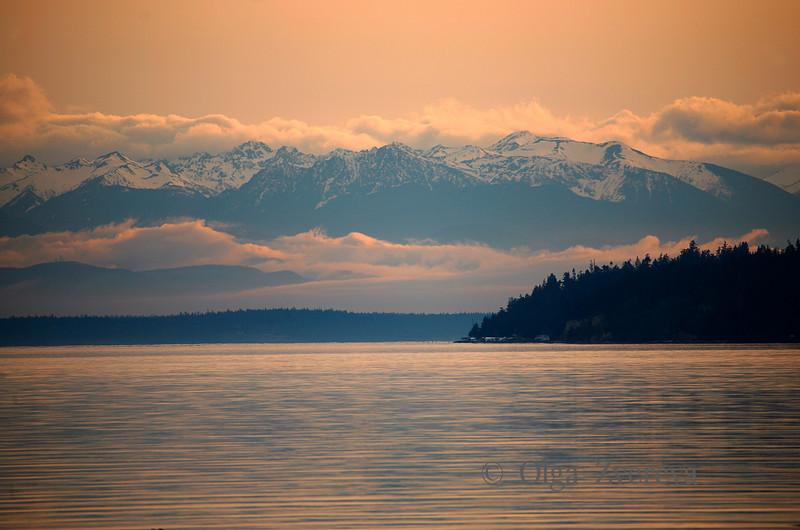 <p>Blue Mountains. Skagit Valley, Washington, USA</p>