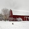 Barns in Snow; Frankenmuth, MI