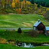 """Farms and Foliage; Cloudland Road between Woodstock and Pomfret, VT 2006<br /> <br /> """"Sleepy Hollow Farm"""""""
