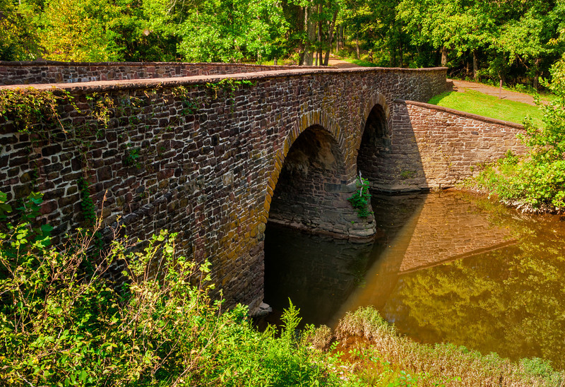 Stone Bridge; Battlefield National Park, Manassass, Virginia