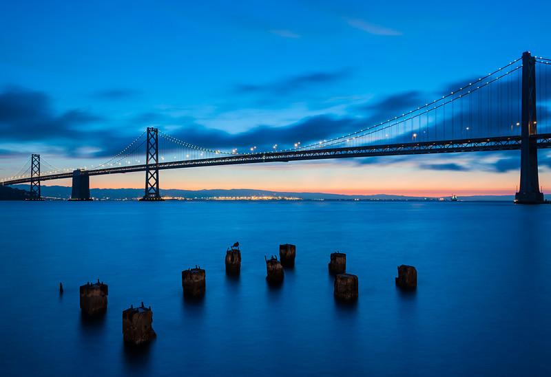 Bay Bridge; San Francisco