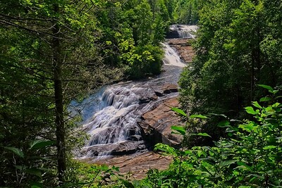 Triple Falls at DuPont State Recreation area
