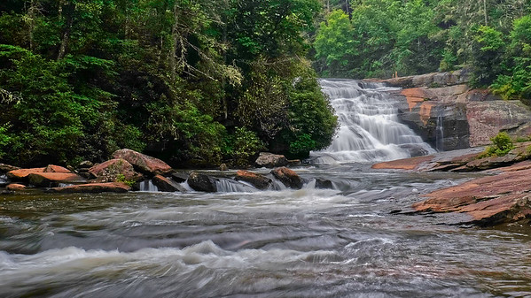 Lower Falls - Triple Falls - DuPont State Forest